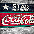 Star Drug Store Wall Sign Poster by Scott Pellegrin