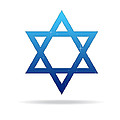 Star of David Print by Aged Pixel