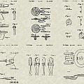 Star Trek Patent Collection Poster by PatentsAsArt