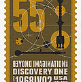 Starschips 55-poststamp -Discovery One by Chungkong Art