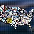States Poster by Robert Smith