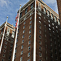 Statler Towers Print by Peter Chilelli