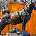 Statue of Balto in NYC Central Park Print by Anthony Sacco
