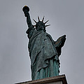 Statue of Liberty - Paris France - 01131 Print by DC Photographer