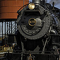 Steam Engine #475 pulling into the Strasburg RR station  01 Poster by Mark Serfass