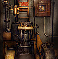 Steampunk - Back in the engine room Print by Mike Savad
