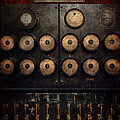 Steampunk - Electrical - Center of power Print by Mike Savad