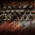 Steampunk - Electrical - Motorized  Poster by Mike Savad
