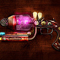Steampunk - Gun -The neuralizer Poster by Mike Savad