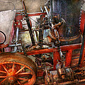 Steampunk - My transportation device Poster by Mike Savad