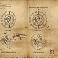 Steampunk Solar Disk Poster by James Christopher Hill