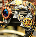 Steampunk - The mask Poster by Paul Ward