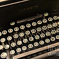 Steampunk - Typewriter - The Age of Industry Poster by Paul Ward