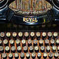 Steampunk - Typewriter -The Royal Print by Paul Ward