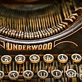 Steampunk - Typewriter - Underwood Poster by Paul Ward