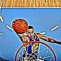 Steph Curry Poster by Florian Rodarte