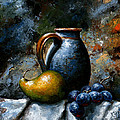 Still life 24 Print by Emerico Imre Toth
