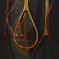 Still life - fishing nets Poster by Jeff Burgess