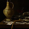 Still Life Print by Jan Jansz van de Velde