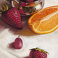 Still LIfe Reflections Poster by Ron Crabb