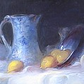 Still Life with Yellows and Blues by Patricia Kimsey Bollinger
