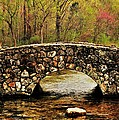 Stone Bridge in the Ozarks Poster by Benjamin Yeager