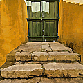 Stone Stair Entranceway  Poster by David Letts