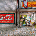 Store Front - Life is Good Print by Mike Savad