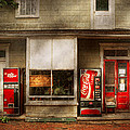 Store Front - Waterford Va - Waterford market  Print by Mike Savad