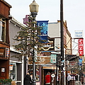 Storefront Shops in Truckee California 5D27489 Print by Wingsdomain Art and Photography