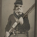 Storm Trooper Star Wars Antique Photo Print by Tony Rubino