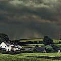 Stormy Hamlet Print by Christopher and Amanda Elwell