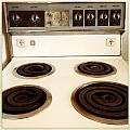 Stove top Print by Les Cunliffe