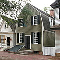 Streetscene Colonial Williamsburg Poster by Christiane Schulze Art And Photography