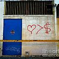 Strip District Doorway Number Fout Print by Amy Cicconi