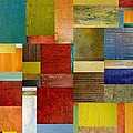 Strips and Pieces l Print by Michelle Calkins