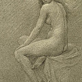 Study for Lilith Poster by Robert Fowler