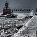Sturgeon Bay After the Storm Poster by Joan Carroll