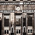 Suburban Station Poster by Olivier Le Queinec