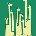 Such a great height Print by Budi Kwan