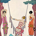 Summer Print by Georges Barbier