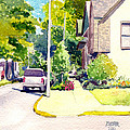Summer On SE 2nd Street Poster by Todd Derr