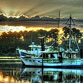 Sunrise at Billy's Print by Michael Thomas