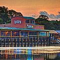 Sunrise at Lulu's Poster by Michael Thomas