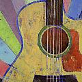 Sunrise Guitar Poster by Michael Creese