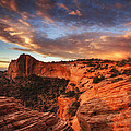 Sunrise Over Canyonlands Print by Darren  White