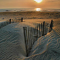 Sunrise Over Hatteras Print by Steven Ainsworth