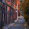 Sunset in Beacon Hill Poster by Joann Vitali