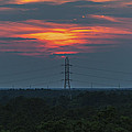 Sunset Power Over Pine Barrens NJ Poster by Terry DeLuco