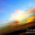 Sunset Reflections - Abstract Print by Robyn King